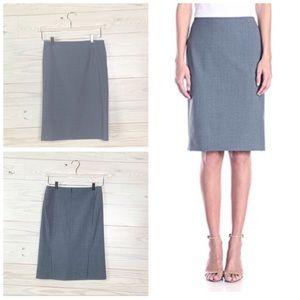 Theory Woman Knee Length Pencil Skirt Career Sz 0